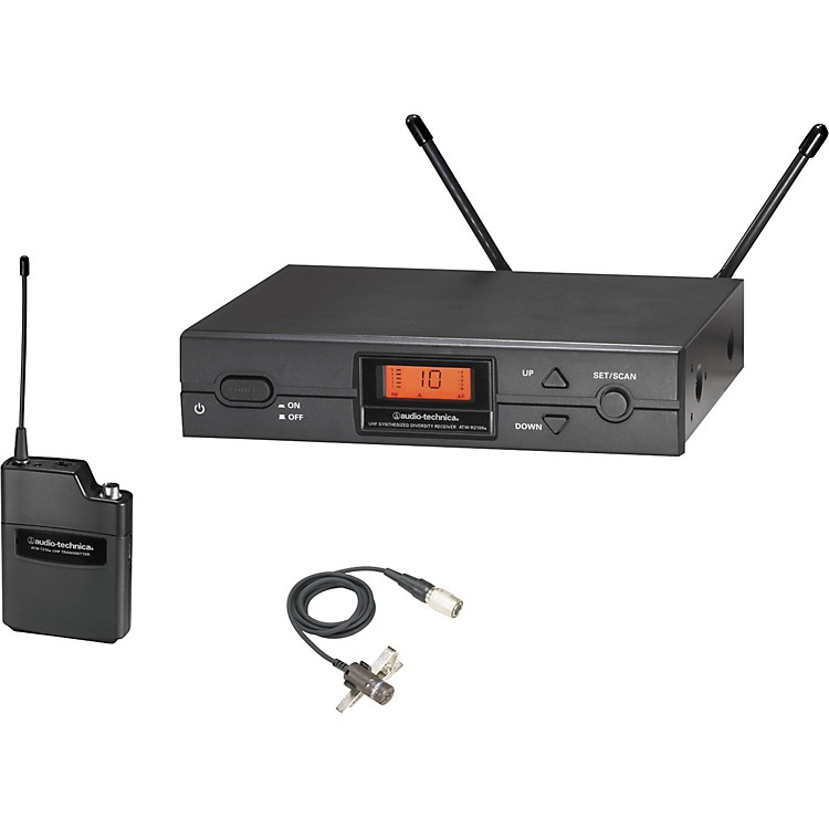 Audio-Technica ATW-2129a 2000 Series Lav Wireless System Channel D