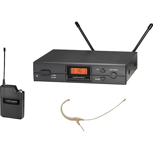 Audio-Technica ATW-2192a 2000 Series Headworn Omni Wireless System