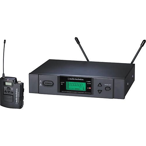 audio technica atw 3110a uhf unipak wireless system musician 39 s friend. Black Bedroom Furniture Sets. Home Design Ideas