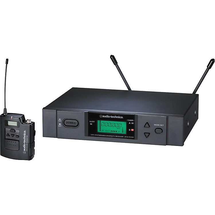 Audio-Technica ATW-3110b 3000 Series UniPak Wireless System Channel C