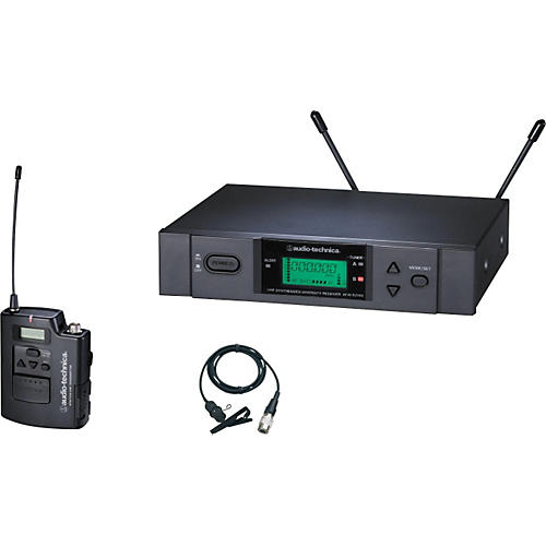 Audio-Technica ATW-3131b 3000 Series Lavalier Wireless System Band D