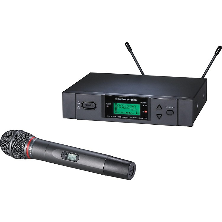 Audio-Technica ATW-3141b 3000 Series Dynamic Microphone Wireless System Channel D