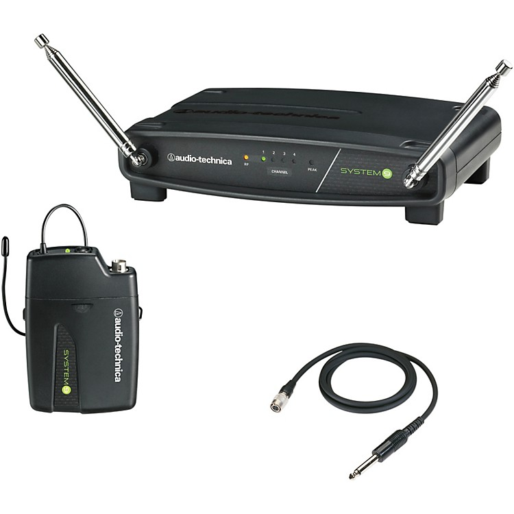 Audio-Technica ATW-901/G System 9 VHF Wireless Guitar System 169.505 - 171.905 MHz