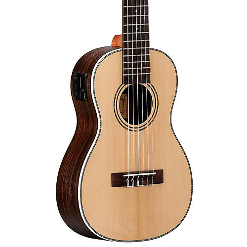 alvarez au70be 6 string travel acoustic electric guitar natural musician 39 s friend. Black Bedroom Furniture Sets. Home Design Ideas