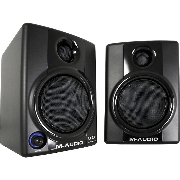 M-Audio AV 30 Compact Monitor Speakers