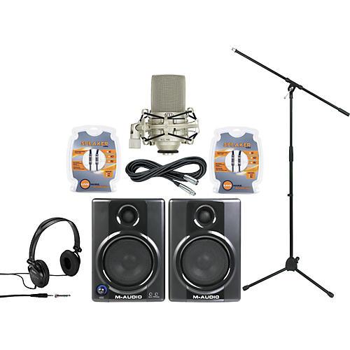 M-Audio AV40 Monitor and Mic Package