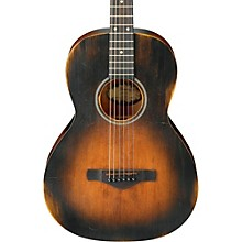 Ibanez AVN6 Artwood Vintage Distressed Parlor Acoustic Guitar Level 1 Tobacco Sunburst