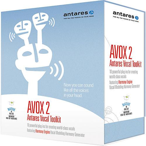 Antares AVOX2 Antares Vocal Toolkit