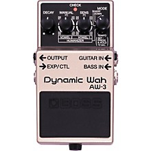Open BoxBoss AW-3 Dynamic Wah Guitar Effects Pedal