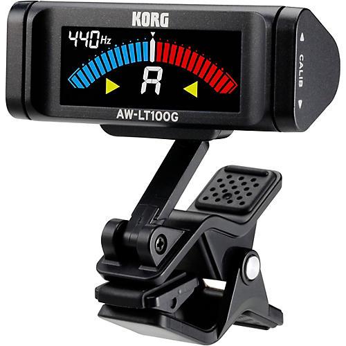 Korg AW-LT100G Clip-On Guitar Tuner-thumbnail