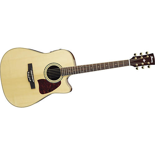 Ibanez AW130RGECENT Artwood Series Acoustic-Electric Guitar
