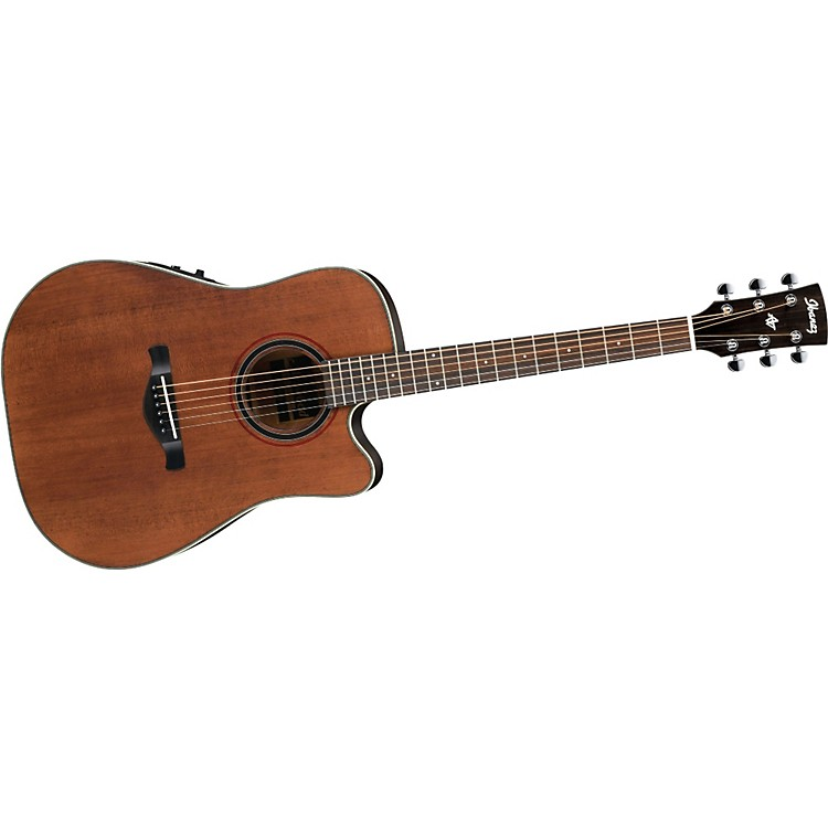 Ibanez AW250ECE Artwood Solid Top Dreadnought Cutaway Acoustic-Electric Guitar