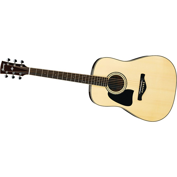 Ibanez AW300 Artwood Solid Top Dreadnought Left-Handed Acoustic Guitar