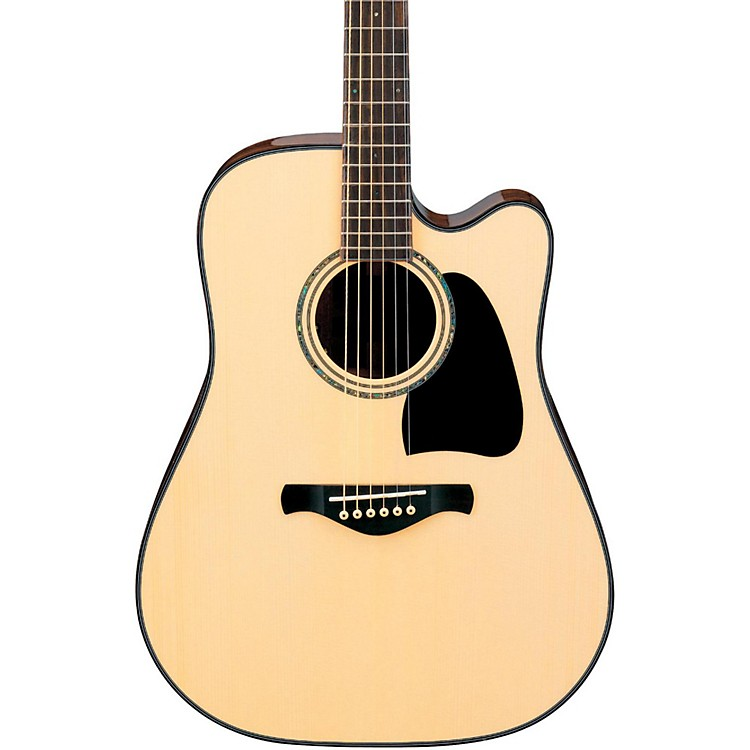 Ibanez AW3000CEWC Artwood Solid Top Acoustic Electric Guitar Natural