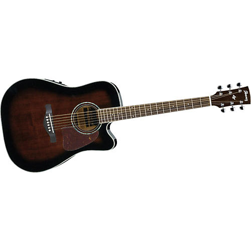 Ibanez AW300ECE Artwood Solid Top Dreadnought Cutaway Acoustic-Electric Guitar