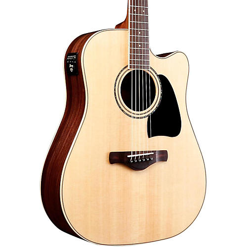 Ibanez AW535CENT Artwood Solid Top Dreadnought Acoustic-Electic Guitar-thumbnail