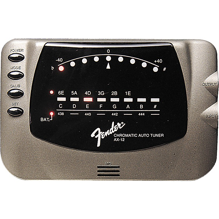 Fender AX-12 Chromatic Tuner