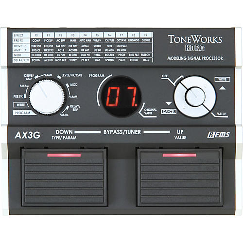 Toneworks AX3G Guitar Modeling Signal Processor