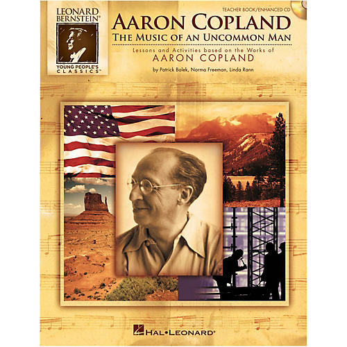 Hal Leonard Aaron Copland: The Music Of An Uncommon Man Student Book 5-Pak