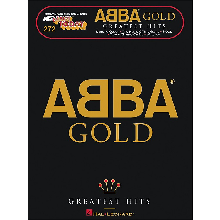 Hal Leonard Abba Gold Greatest Hits E-Z Play 272
