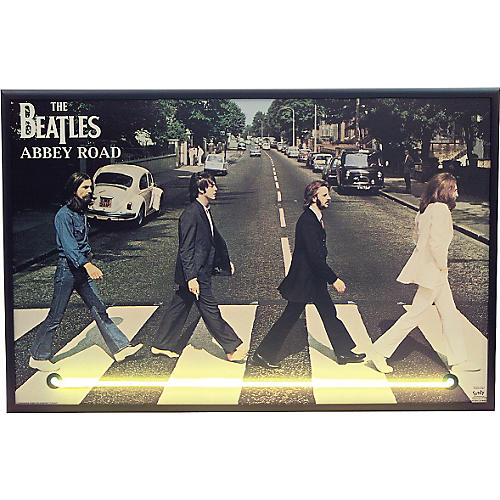 Gifts of Note Abbey Road Neon Poster-thumbnail