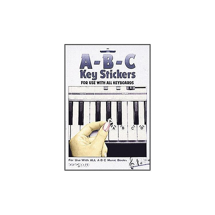 Hal LeonardAbc Keyboard Stickers