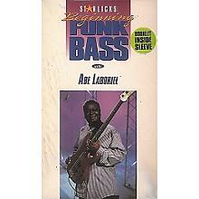 Hal Leonard Abe Laboriel Beginning Funk Bass Video Package