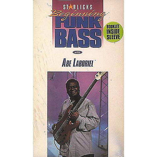 Hal Leonard Abe Laboriel Beginning Funk Bass Video Package