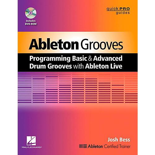 Hal Leonard Ableton Grooves Book/DVD-ROM-thumbnail