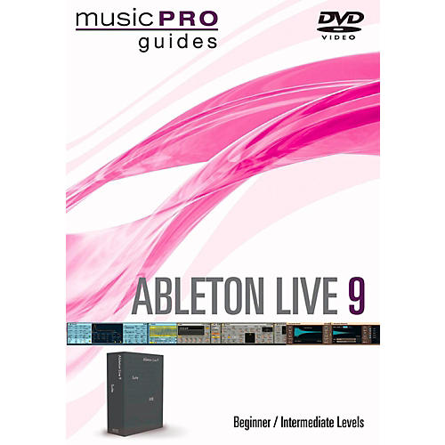 Hal Leonard Ableton Live 9 Beginner/Intermediate Level Music Pro Guide DVD-thumbnail