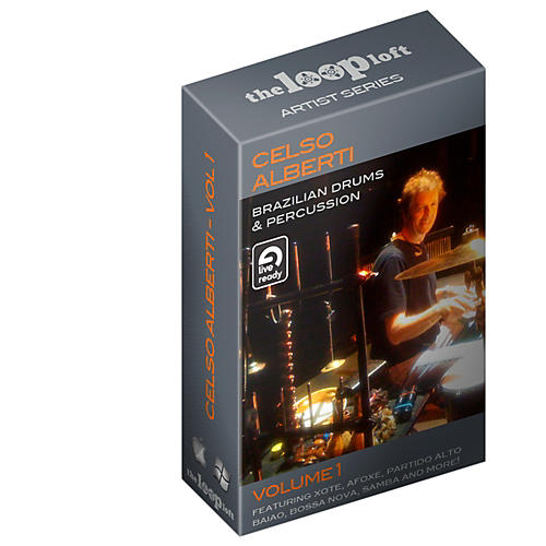 The Loop Loft Ableton Live Pack - Brazilian Drums Software Download-thumbnail