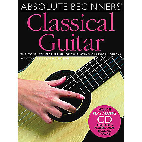 Music Sales Absolute Beginners - Classical Guitar Music Sales America Series Softcover with CD-thumbnail