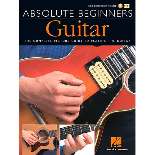 Music Sales Absolute Beginners - Guitar (Book/DVD Pack) Music Sales America Series Softcover with DVD by Various-thumbnail