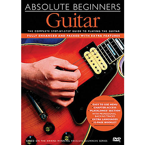 Music Sales Absolute Beginners - Guitar Music Sales America Series DVD Written by Dick Arthur-thumbnail