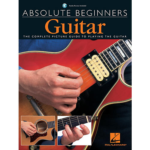 Music Sales Absolute Beginners - Guitar Music Sales America Series Softcover with CD Written by Various Authors-thumbnail