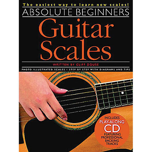 Music Sales Absolute Beginners - Guitar Scales Music Sales America Series Softcover with CD Written by Cliff Douse-thumbnail