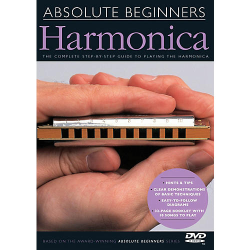 Music Sales Absolute Beginners - Harmonica Music Sales America Series DVD-thumbnail
