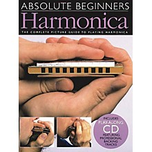 Music Sales Absolute Beginners - Harmonica Music Sales America Series Softcover with CD Written by Various