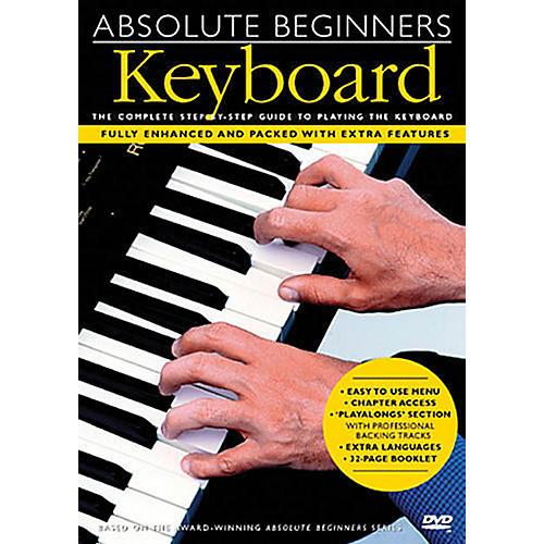 Music Sales Absolute Beginners - Keyboard Music Sales America Series DVD Written by Various-thumbnail