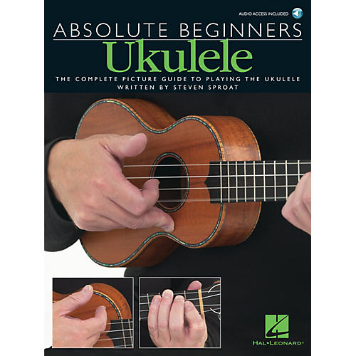 Music Sales Absolute Beginners - Ukulele Music Sales America Series Softcover with CD Written by Various Authors-thumbnail