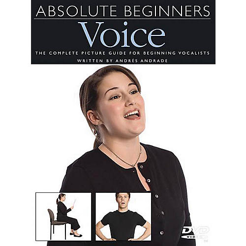 Music Sales Absolute Beginners - Voice Music Sales America Series DVD-thumbnail