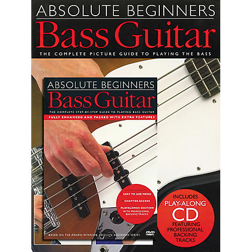Music Sales Absolute Beginners: Bass (Book/CD/DVD)