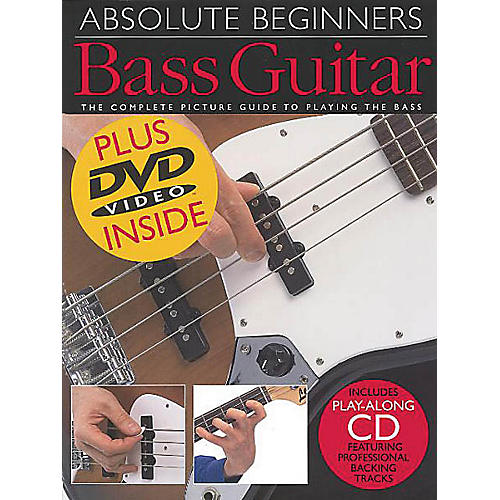 Music Sales Absolute Beginners: Bass Guitar (Book/CD/DVD Value Pack) Music Sales America Series by Various Authors-thumbnail