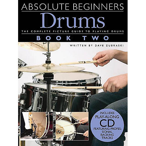 Music Sales Absolute Beginners: Drums - Book 2 Music Sales America Series Softcover with CD Written by Various-thumbnail