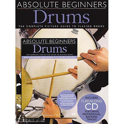 Music Sales Absolute Beginners: Drums (Book/CD/DVD)