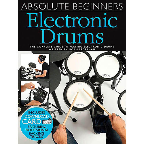 Music Sales Absolute Beginners Electronic Drums (Book/CD)-thumbnail