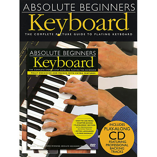 Music Sales Absolute Beginners: Keyboard (Book/CD/DVD)