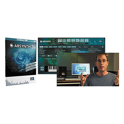 Native Instruments Absynth 3 Tutorial DVD