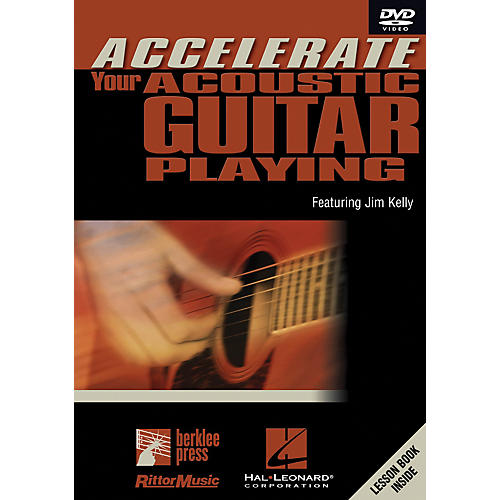 Hal Leonard Accelerate Your Acoustic Guitar Playing DVD