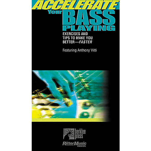 Hal Leonard Accelerate Your Bass Playing Video